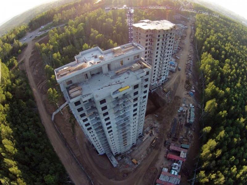 <p><strong>7. ЖК «Южный парк»</strong><br /> Фото: http://southpark38.ru/<br /> Проектные декларации на сайте: http://southpark38.ru/</p>