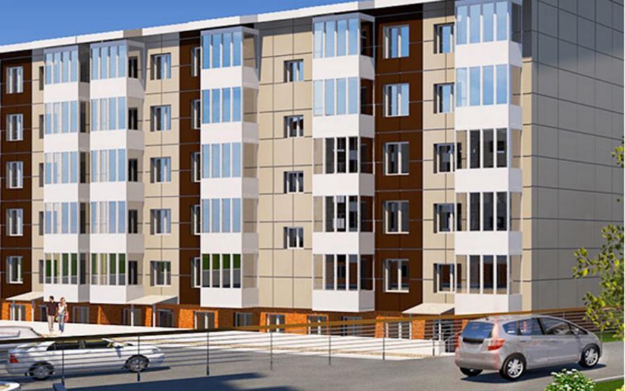 <br><b>Минимальная стоимость квартиры:</b> 962,4 тыс. руб. (квартира 28,47 кв.м)<br><br>  <b>Расположение:</b>г. Шелехов, м/р Центральный<br> <b>Срок сдачи:</b>сдан<br> <b>Застройщик:</b>ООО ПСК СтройГрад<br> <b>Площади квартир:</b>28,47-90,67 кв.м<br> <b>Цены:</b> 33-40 тыс.руб./кв.м<br>