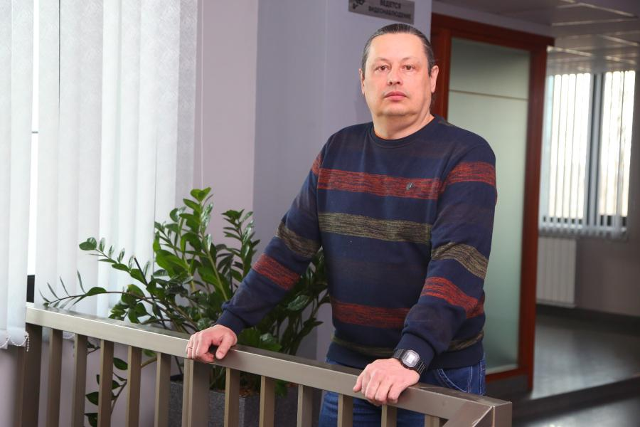 <p>Е. Ильин. Фото А. Федорова</p>